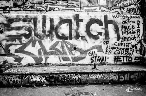 Graffiti - Skatepark de Bercy